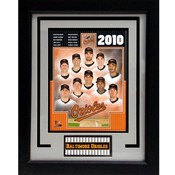 2010 Baltimore Orioles 11X14 Deluxe Frame