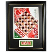 2009 Boston Red Sox 11x14 Deluxe Frame