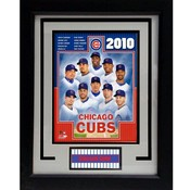 2010 Chicago Cubs 11x14 Deluxe Frame