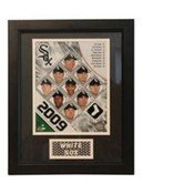 2009 Chicago White Sox 11x14 Deluxe Frame