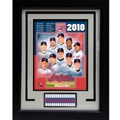 2010 Cleveland Indians 11x14 Deluxe Frame