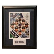2009 Milwaukee Brewers 11x14 Deluxe Frame
