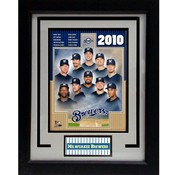 2010 Milwaukee Brewers 11x14 Deluxe Frame