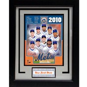 2010 New York Mets 11x14 Deluxe Frame