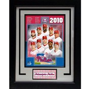 2010 Philadelphia Phillies 11x14 Deluxe Frame
