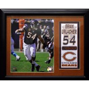 Brian Urlacher Chicago Bears Stat Photo Frame