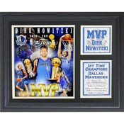 Dallas Mavericks Dirk Nowitzki 11x14 Stat Frame