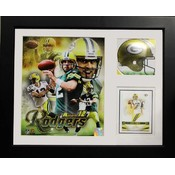 Aaron Rodgers Packers 11x14 Deluxe Frame w/Card