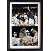 2009 NY Yankees World Champions 12x18 Frame