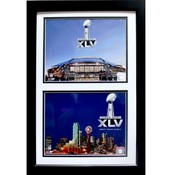 2010 Super Bowl XLV Texas 12X18 Double Photo Print