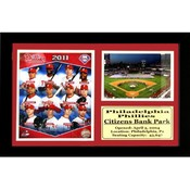 2011 Philadelphia &quot;Phillies&quot; - 12X18 Deluxe Frame