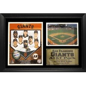San Francisco Giants 2012 12x18 Photo Stat Frame