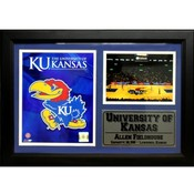 The University of Kansas 12X18 Deluxe Stat Frame