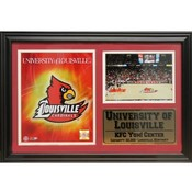 University of Louisville 12x18 Deluxe Stat Frame
