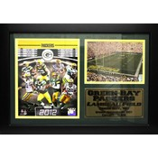 2012 Green Bay Packers 12x18 Photo/Stat Frame