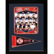 2011 Boston Red Sox 12X18 Pennant Frame