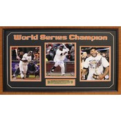 World Series MVP Pablo Sandoval Autographed Frame