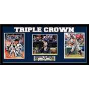 Miguel Cabrera Triple Crown 15 x 35 Frame