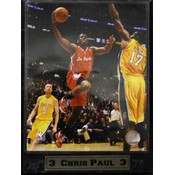 Chris Paul LA Clippers 9 x 12 Photo Plaque