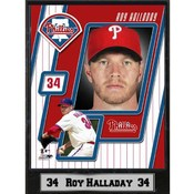 MLB Plaque- Philadelphia Phillies / Roy Halladay Wholesale Bulk