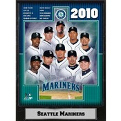 2010 Seattle Mariners 9x12 Plaque