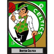 NBA Plaque- 2011 Boston Celtics Logo