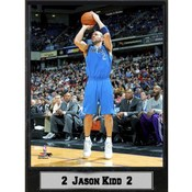 NBA Plaque- Dallas Mavericks / Jason Kidd