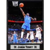 NBA Plaque- Dallas Mavericks / Jason Terry