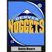 NBA Plaque- 2011 Denver Nuggets Logo