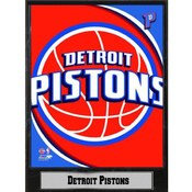 NBA Plaque- 2011 Detroit Pistons Logo