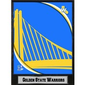 NBA Plaque- 2011 Golden State Warriors Logo