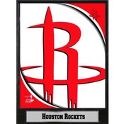 NBA Plaque- 2011 Houston Rockets Logo