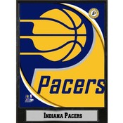 NBA Plaque- 2011 Indiana Pacers Logo