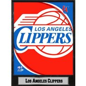 NBA Plaque- 2011 Los Angeles Clippers Logo
