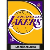 NBA Plaque- 2011 Los Angeles Lakers Logo
