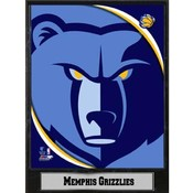 NBA Plaque- 2011 Memphis Grizzlies Logo