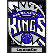 2011 Sacramento Kings 9x12 Logo Plaque