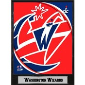 2011 Washington Wizards 9x12 Logo Plaque