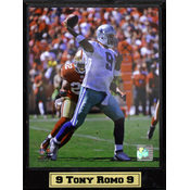 Tony Romo Dallas Cowboys Action Photo Plaque