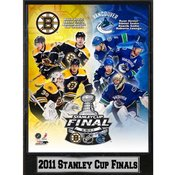2011 Stanley Cup Finals 9x12 Photo Plaque