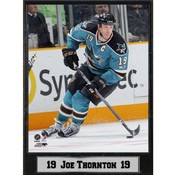 San Jose Sharks Joe Thornton 9x12 Photo Plaque