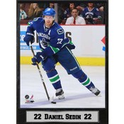Vancouver Canucks Daniel Sedin 9x12 Photo Plaque