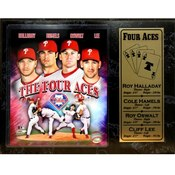 "Philadelphia ""Phillies"" 12X15Plaque -The Four Aces"