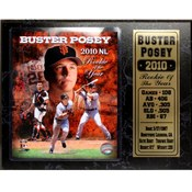 San Francisco Giants Buster Posey 12x15 Stat Plaq