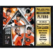 2010 Philadelphia Flyers 12x15 Stat Plaque