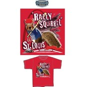 St. Louis &quot;Rally Squirrel&quot; Red T-Shirt