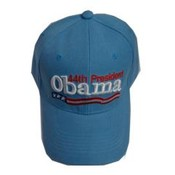 Barack Obama Light Blue 44th President Cap