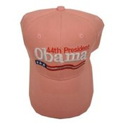 Barack Obama Pink 44th President Cap