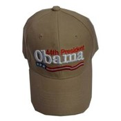 Barack Obama Tan 44th President Cap
