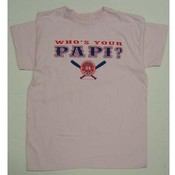 "Pink ""Whos your Papi?"" T-Shirt"
